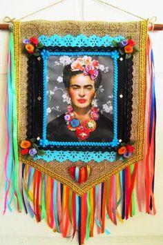 Sugar Skull Art, Sugar Art, Mexican Folk Art, Mexican Style, Ibiza, Fridah Kahlo, Costura Diy, Frida Art, Sculpture Lessons