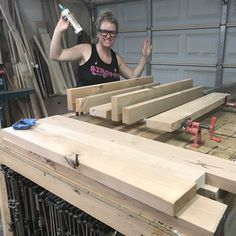 DIY Modern Deck Chairs — the Awesome Orange Diy Projects Plans, Wood Projects That Sell, Diy Furniture Plans, Wood Furniture, Deck Chairs, Outdoor Chairs, Modern Deck, Plastic Adirondack Chairs, Building Plans