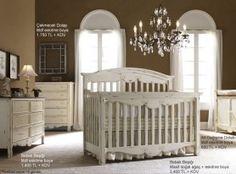 Eskitme Boyalı Bebek Odaları