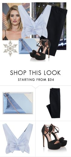 """🎄✨"" by maricamimovilla08 ❤ liked on Polyvore featuring Whiteley, Whistles, Canvas by Lands' End, Thakoon and Bloomingdale's"