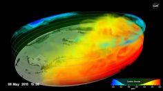 Vídeo: Así es la capa de gases que provocan el calentamiento global