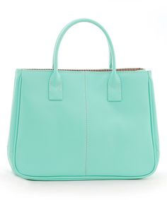 Another great find on #zulily! Chancebanda Lake Blue Top Handle Bag by Chancebanda #zulilyfinds