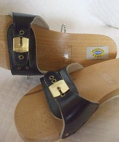 dr scholl's exercise sandals ~ everyone had to have these!