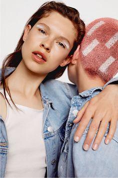 Denim collection FW·17 - Editorials - Woman - PULL&BEAR Finland