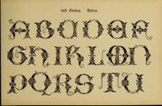 "1906 vintage reference book available for free download :   ""The Signist's Book of Modern Alphabets, Plain amd Ornamental, Ancient and Medieval, from the 8th to 12th Century, Including Numerals"""