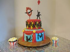 Celebrating 5th Annual YMCA Jr Circus with a Circus Cake