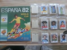 PANINI WM WC 1982 82 * KOMPLETTSET LEERALBUM * LOOSE SET EMPTY PERFECT ALBUM