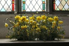 Flower Arrangements for Church Sanctuary | attended the Holy Communion service at 08.30 this morning. The church ...