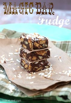 Magic Bar Fudge