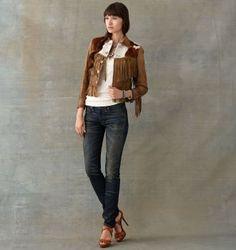 RRL Ralph Lauren: Cheyenne-Wash Skinny Jean