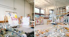 10 Famous Artists' Stunning Studios – Flavorwire