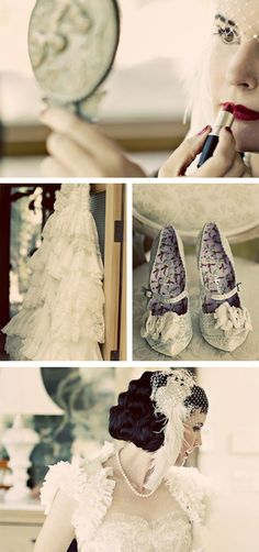 old Hollywood wedding :)