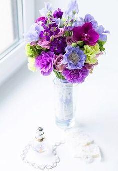 Blumendeko für den Sommer #flowers #brautstrauß #lila auf gofeminin.de