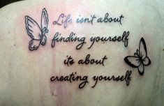 Butterfly Quotes - It's About Creating Yourself
