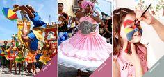 Obaaaa! Hoje é segunda-feira e ainda tem mais Carnaval para pintar o nosso dia com alegria! #Carnaval #Cores