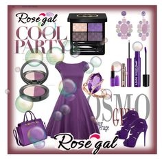 """""""purple"""" by rikyy ❤ liked on Polyvore featuring Giuseppe Zanotti, Dasein, Monet, Effy Jewelry, Gucci, NYX, Urban Decay, MAC Cosmetics and vintage"""