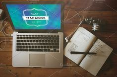 Mockup Macbook Pro 4 by caiocall on @creativemarket