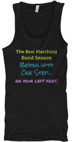 Best Marching Band Season Tank Top