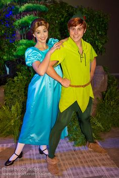 Peter Pan and Wendy halloween costume