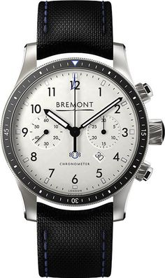 Bremont Watch. It's not often you see a watch that has all the numbers on the dial. Find me another one like this!