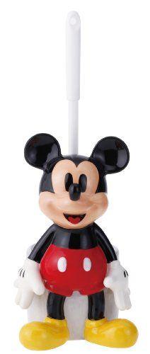 Mickey Mouse toilet brush holder SAN1736 (japan import)