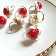 new☆ホイップいちごのリング