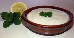 Salsa de yogur vegetal