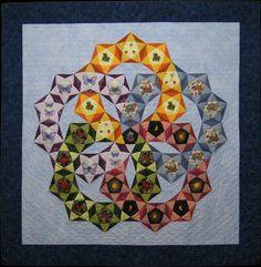 favorite quilts | Slide Show, Quilt #9: Spin-off (2003)