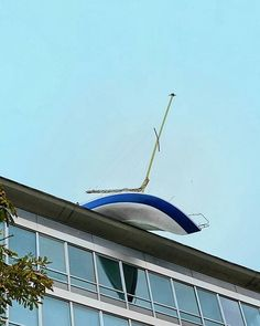 Boat on the roof in Vienna. #vienna #austria #urban #modern #architecture…