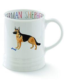 German Shepherd Georgia Mug by Fringe Studio #zulily #zulilyfinds