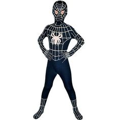 Boys venom black spiderman #costume kids #halloween child superhero #party cospla,  View more on the LINK: 	http://www.zeppy.io/product/gb/2/262360425962/