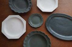 t1097 オトナミドリ 洋まる小皿 生活陶器「on the table」