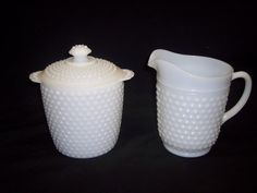 vintage cookie jar and pitcher