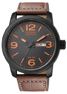 "Citizen Men's BM8475-26E ""Eco-Drive"" Stainless Steel and Synthetic Leather Strap Watch Citizen http://www.amazon.com/dp/B005MKGOOY/ref=cm_sw_r_pi_dp_-AIJub0WC80EA"