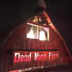"Come experience an interactive walk-through haunted house with live performers. Psychologically designed to shock your senses, test your limits, and bring out your deepest fears! ""Dare To Be Touched!"" for an extreme experience. Open weekends in October. 865.288.7344. www.deadmansfarm.com #hauntedhouse #lenoircity #tennessee #goLoCo #deadmansfarm"