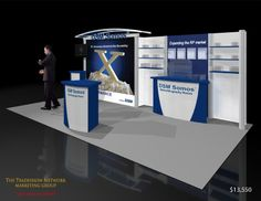 Used 10x20 Trade Show Booth