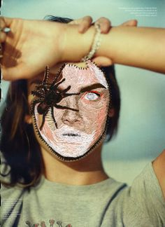 Embroidery and Collage. Mixed Media Textile Art, Textile artist Artist Study inge jacobsen:  , Resources for Art Students ,  Art School Portfolio Works #CAPI #Textiles