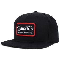 Brixton  Casquette  Snapback  Grade Noire a3eb0d03ec31