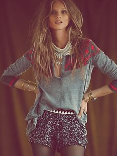 wildheart by ESC Kyra Sequin Short // On Free People