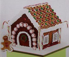 Biscoitos de Natal - N° 14 / Casinha de Pão de Mel, via Flickr.