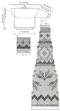 "DROPS – DROPS Pulli mit Rundpasse in ""Karisma"" – Free pattern by DROPS Design – Love Amigurumi – types of knitting stitches Fair Isle Knitting Patterns, Knitting Machine Patterns, Fair Isle Pattern, Knitting Charts, Sweater Knitting Patterns, Knitting Stitches, Knitting Designs, Free Knitting, Knitting Sweaters"