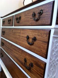 i love my new old dresser #upcycle