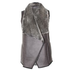 Kitty Faux Fur gilet by Graham & Spencer! J'adore.