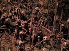 Mark Powell's Hellish Dioramas Will Freak You Out