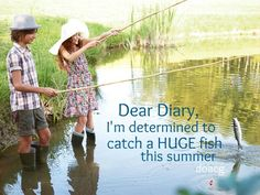 This 2014, I want to go fishing with the wife and boys. Let me rephrase that, this year we will go fishing ....