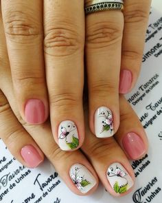 29 Modelos de Unhas com borboletas – Passo a passo Toe Nail Art, Toe Nails, Grey Matte Nails, Toenail Art Designs, Flower Nails, French Nails, Spring Nails, Manicure And Pedicure, Nail Artist