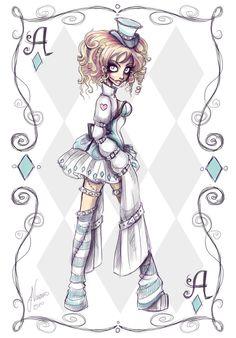 "Crazy Alice Character 2 ~ Jennifer aka ""NoFlutter"""