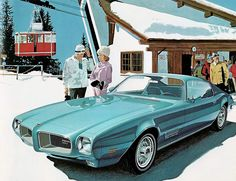 Do you remember when Pontiac was a brand? Heck, do you (or can you) remember when they were actually desirable? Yeah it was a while ago. But Messrs. Art Fitzpatrick and Van Kaufman are a big part of the reason that Pontiac was very much in demand through the 1960s and early 1970s. They were a creative team with Fitz drawing the cars and Van the scenery and people.