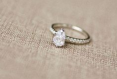 Pear shaped diamond engagement ring. View full wedding: http://goodbyemiss.com/wedding/a-palm-beach-wedding-from-jemma-keech-photography