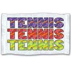 Tennis terms towel!